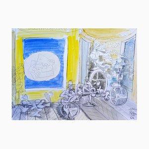 Full Moon by Gérard Blain, 2014