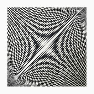 Kinetic Composition by Genevieve Fauve, 1969