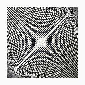 Kinetische Komposition von Genevieve Fauve, 1969