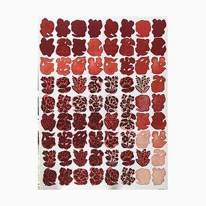 Siebdruck auf Stoff- und Holzrahmen von Bianchini Ferier nach Raoul Dufy, 1991