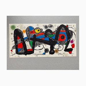 Spain Lithograph by Joan Miró, 1972