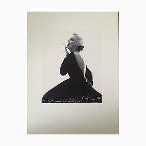 Vestido Marilyn Laughing in the Famous Dior de Bert Stern, 2011
