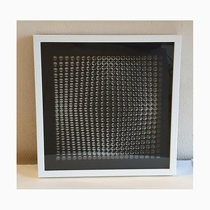 Kinetics D by Victor Vasarely, 1973