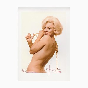 Marilyn Monroe Sexy Back the Last Sitting by Bert Stern, 2009