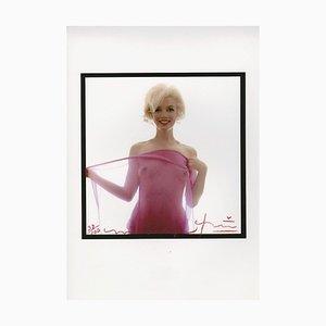 Marilyn Monroe Nude in Fascia Scarf by Bert Stern, 2012