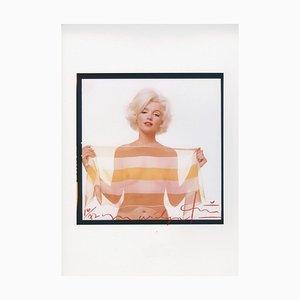 Echarpe Marilyn Monroe en Rayé par Bert Stern, 2012