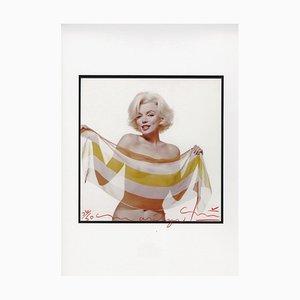 Marilyn Monroe Schiefschal von Bert Stern, 2012