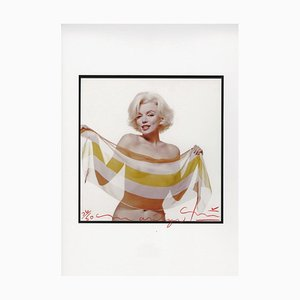 Marilyn Monroe Slanted Scarf by Bert Stern, 2012