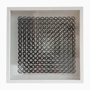 Kinetics A par Victor Vasarely, 1973