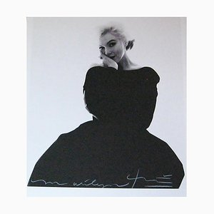Marilyn in the Black Dress Looking at You by Bert Stern, 2007