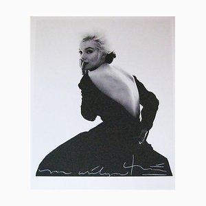 Marilyn Back in the Dior Kleid von Bert Stern, 2007