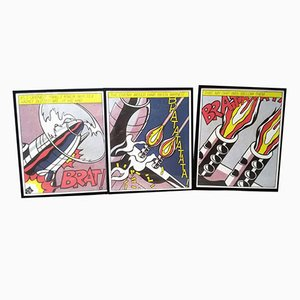 As I Opened Fire Poster after Roy Lichtenstein, 1964, Set of 3