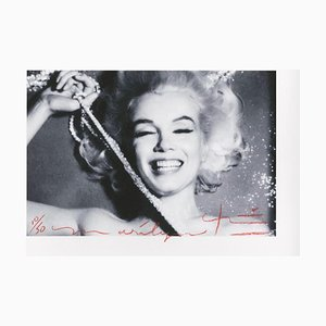 Marilyn Monroe the Last Sitting Pearls 2 by Bert Stern, 2011