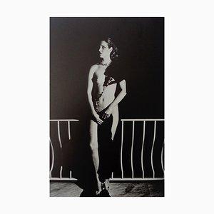Capri at Night by Helmut Newton, 1977