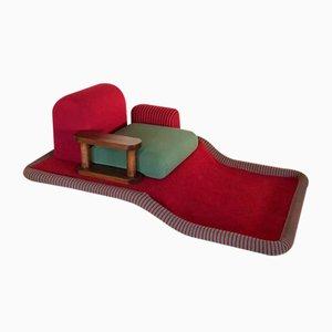 Tappeto Volante oder Flying Carpet Armlehnstuhl von Ettore Sottsass, 1972