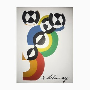Portfolio Robert Delaunay by Jacques Damase, 1973