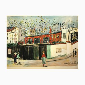 Montmartre by Maurice Utrillo, 1959