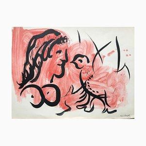 Woman Bird von Marc Chagall, 1959