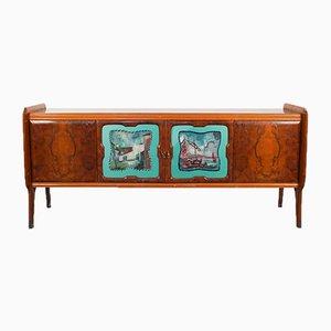 Credenza vintage in legno, anni '60