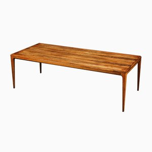 Mid-Century Rosewood Sofa Table by Johannes Andersen for CFC Silkeborg