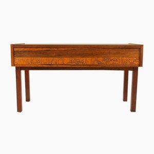 Small Mid-Century Rosewood Dresser by J. Hølmer-Hansen, 1960s