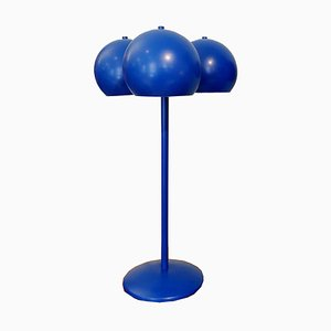 Bubble Shaped Blue Table Lamp by Juanma Lizana