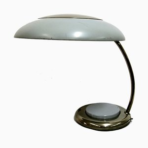 Mid-Century Nickel-Plated Table Lamp, 1960s