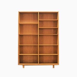 Mid-Century Ash Bookcase from Hundevad & Co., 1960s