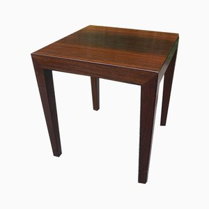 Mid-Century Rosewood Nightstand by Severin Hansen for Haslev Møbelsnedkeri