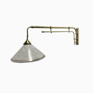 Extendable Restaurant Wall Light, 1940s
