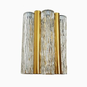 Ice Glass Wall Light from Kaiser Idell / Kaiser Leuchten, 1960s