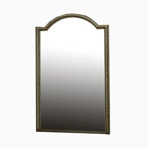 Großer Französischer Spiegel mit Schlankem Rahmen oder Wandspiegel, 19. Jh