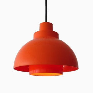 Danish Pendant Lamp by Svend Middelboe for Nordisk Solar, 1970s