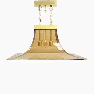 Italian Ceiling Lamp by Max Ingrand for Fontana Arte, 1960s