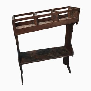 Wooden Grotters Cupboard, Rack or Side Table, 1930s