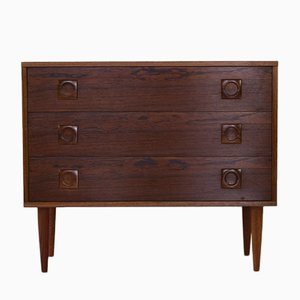 Small Danish Rosewood Chest of Drawers, 1960s