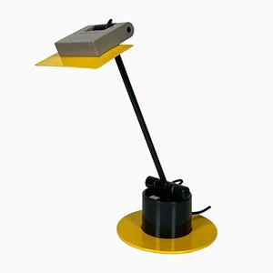 Vintage Aero Desk Lamp by Ettore Sottsass for Bieffeplast, 1980s