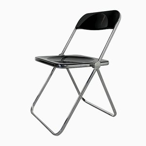 Plia Folding Chair by Giancarlo Piretti for Castelli / Anonima Castelli, 1960s