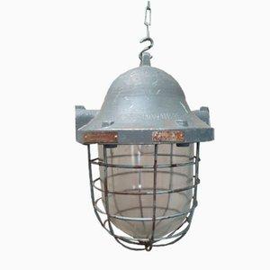 Industrielle Bully Fabriklampe, 1970er