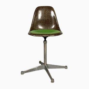 Drehbarer DSW Chair von Charles & Ray Eames für Herman Miller, 1980er