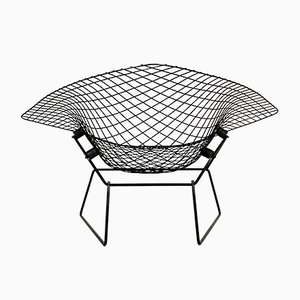 Large Diamond Lounge Chair by Harry Bertoia for Knoll Inc. / Knoll International, 1970s