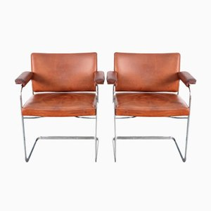 Mid-Century RH305 Office Chairs by Robert Haussmann for de Sede, Set of 2