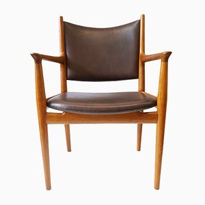 Mid-Century JH-713 Chair by Hans J. Wegner for Johannes Hansen