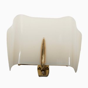 Mid-Century Alraune Brass and Perspex Sconce by J. T. Kalmar, 1950s