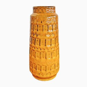 Inka Relief Nr. 260/22 Decor Vase from Scheurich, 1970s