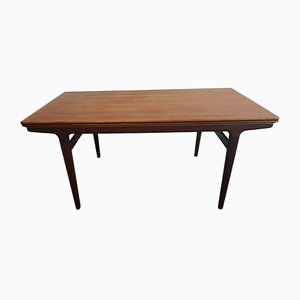 Danish Teak Dining Table by Johannes Andersen for Uldum Møbelfabrik, 1960s