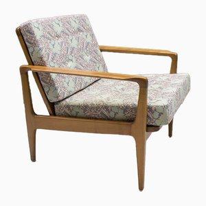 Skandinavische Mid-Century Armlehnstühle aus Kirschholz, 1960er, 2er Set