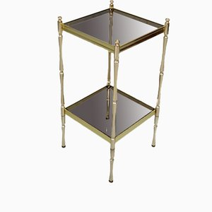 Hollywood Regency Italian Brass Etagere, 1970s