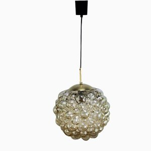Bubble Ceiling Lamp by Helena Tynell for Glashütte Limburg, 1960s