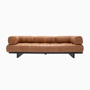 Mid-Century DS 80 Patchwork Leather Daybed from de Sede
